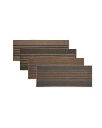 Striped Washable Runner