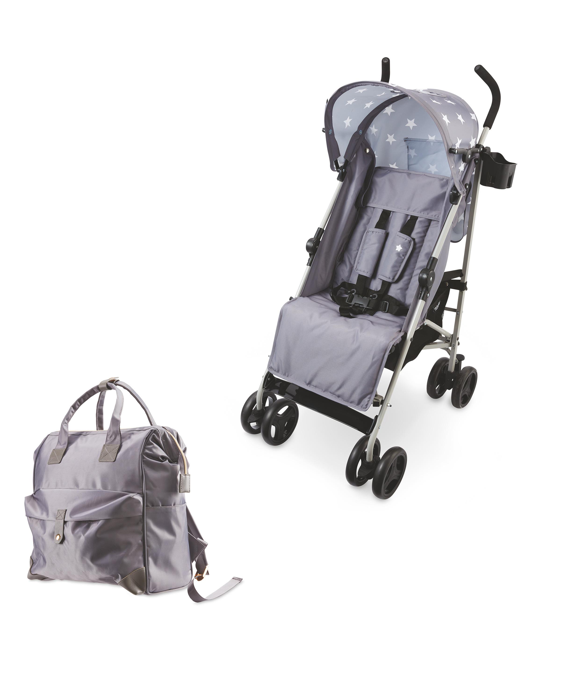 Stroller And Grey Change Backpack