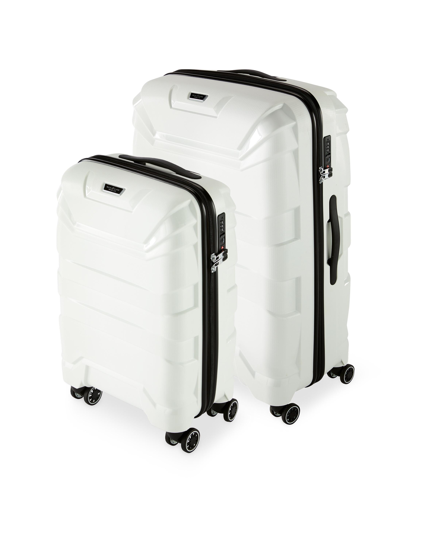 331d4d904983 White Suitcase Set