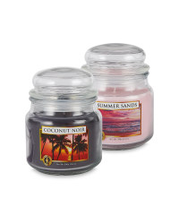 Summer Sands & Coconut Candle Set