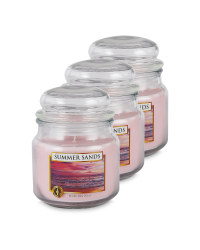 Summer Sands Candle 3 Pack