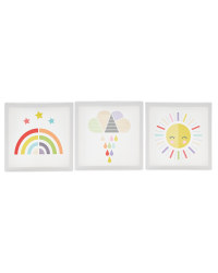 Sun Kids' Room Canvas Set
