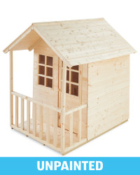 Childrens' Wooden Playhouse