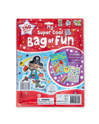 Super Cool Sticker and Activity Bag