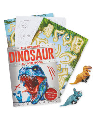 Super Racers Dinosaur Book and Toy