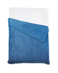 Kirkton House Super Soft Throw - Blue