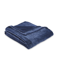 Super Soft Throw - Blue Indigo