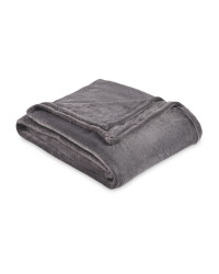 Super Soft Throw - Dark Grey