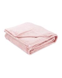 Kirkton House Super-Soft Throw - Pink