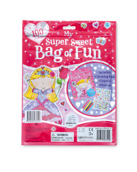 Super Sweet Sticker and Activity Bag