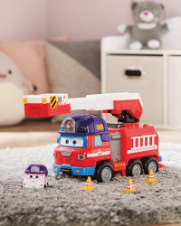 Super Wings Rescue Riders Playset