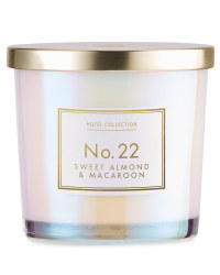 Sweet Almond & Macaroon Glass Candle