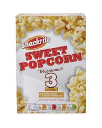 Sweet Microwave Popcorn