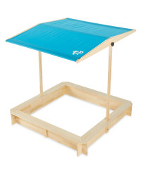 TP Wooden Sandpit with Canopy