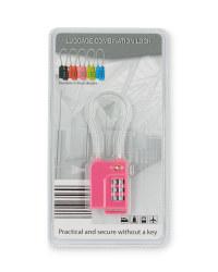 TSA Wire Lock - Pink