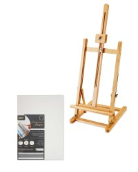 Table Easel and Rectangle Canvas Set
