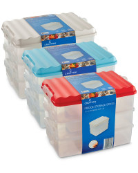 Tall Fridge Storage Boxes (3 Pack)