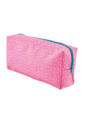 Script Pink Rectangular Pencil Case