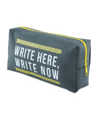 Script Rectangular Pencil Case