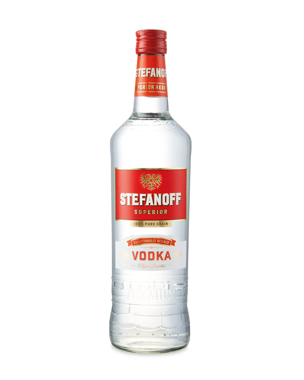 Stefanoff Distilled Vodka 70cl