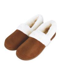 Tan Ladies Slippers
