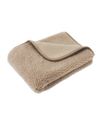 Tape Sherpa Fleece Pet Blanket