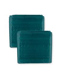 2-Pack Tarpaulin 3x2m - Green