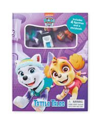 Paw Patrol Tattle Tales Board Book