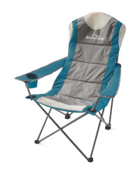 Teal And Grey Camping Chair
