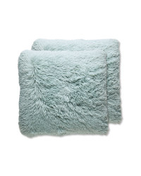 Teal Cosy Cushion 2 Pack
