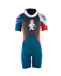 Team GB Children's Shorty Wetsuit - Red