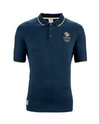 Team GB Ladies Polo Shirt - Navy