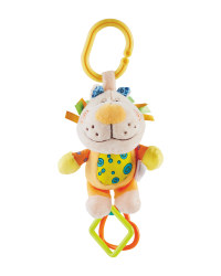 Teething Lion Chime Toy