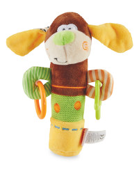 Teething Squeaky Dog Toy