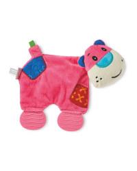 Teething Toy Blanket - Pink