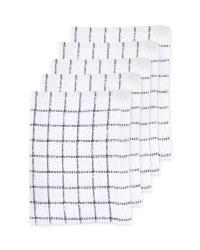 Navy Terry Tea Towels 5 Pack