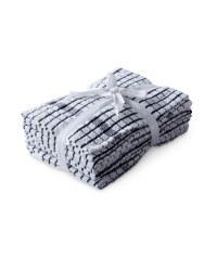 Terry Tea Towels 5 Pack - Liquorice