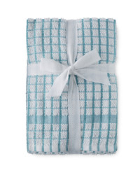 Terry Tea Towels 5-Pack - Cameo Blue