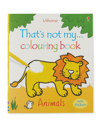 That's Not My Animals Colouring Book