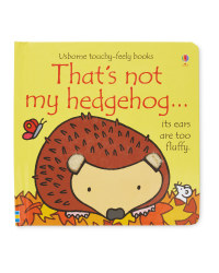 That's Not My Hedgehog Book