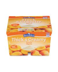 Thick & Creamy Apricot Yogurt