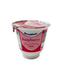 Thick & Creamy Raspberry Yogurt