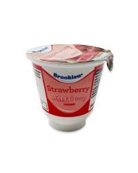 Thick & Creamy Strawberry Yogurt