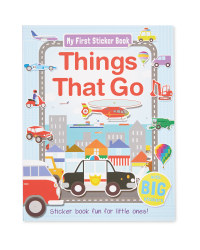 Things That Go My First Sticker Book