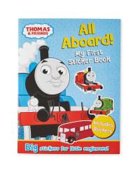 Thomas All Aboard Sticker Book