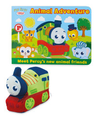 Thomas & Friends Animal Book & Plush