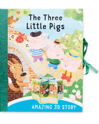 Three Little Pigs 3D Carousel Book