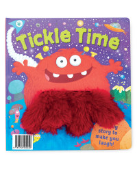 Tickle Time Hand Puppet Book