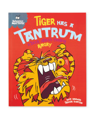 Tiger Has A Tantrum Baby Book