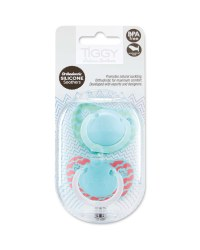 Tiggy 0-6 Months Mint Soothers